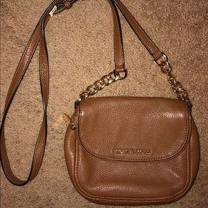 Michael Kors brown crossbody purse bag. Perfect!